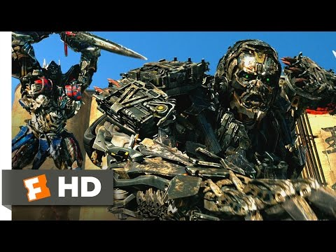 Transformers: Age of Extinction (10/10) Movie CLIP - Honor, To the End (2014) HD