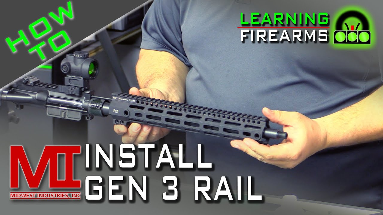 How to Install the Midwest Industries Gen 3 Handguard