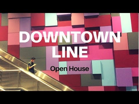 MRT Downtown line 3 Singapore Open House