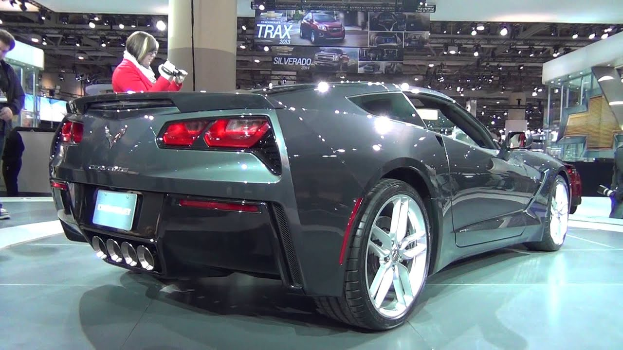 Motrface Com 2014 C7 Corvette Stingray In Shark Grey