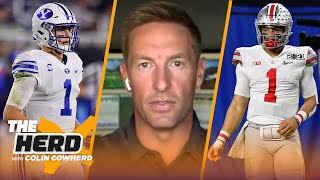 Joel Klatt breaks down NFL potential of Mac Jones, Justin Fields, and Zach Wilson | NFL | THE HERD