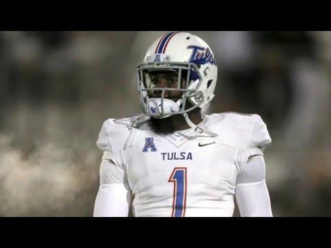 "Keyarris Garrett || ""Nations Most Underrated Receiver"" || Tulsa Highlights"