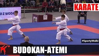 MP Karate WKF: Budokan Wrocław vs Atemi Bielsko-Biała (Kata Drużynowe Mężczyzn)