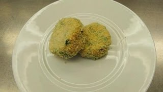 Recipe For Salmon Cakes With Feta & Spinach : Wholesome Flavors