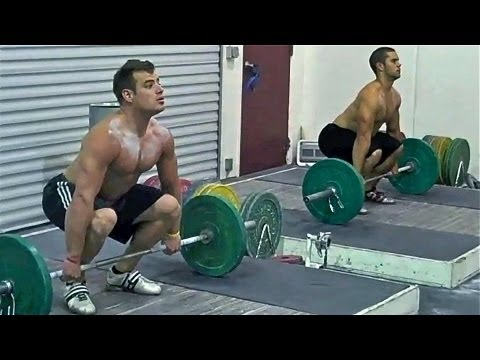 how to power clean lifting