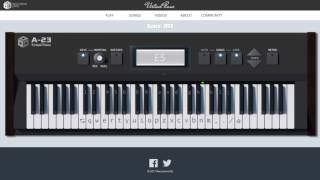 Test your virtual piano skills with the new GAME MODE. Play any of ...