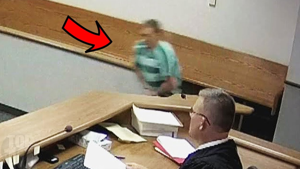 10 People Who Escaped From Court!