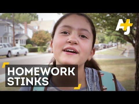 The history of homework
