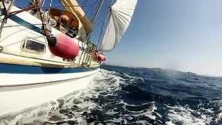 La Maddalena in barca a vela 2015
