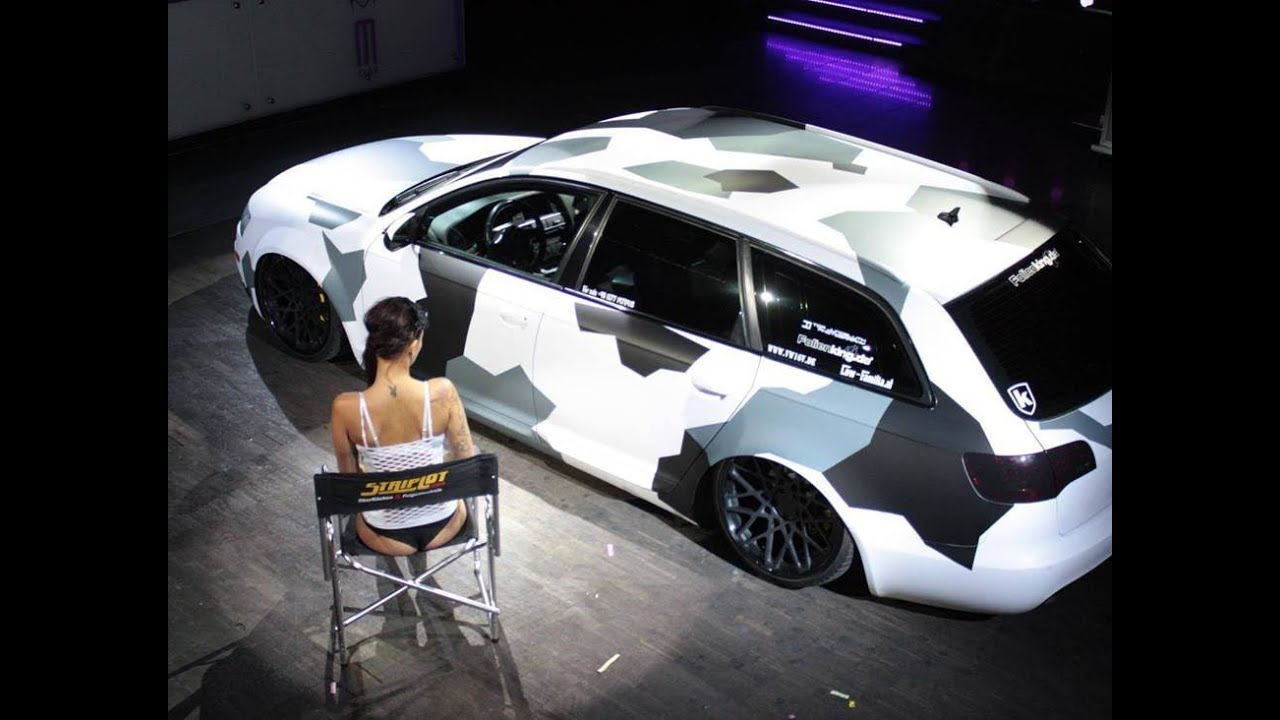 White Audi A4 >> TOTAL DIP - VW PASSAT CAMO - YouTube