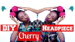 DIY Cherry Headpiece | Marina And The Diamonds Inspired