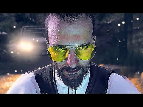 FAR CRY 5 All Cutscenes Movie (PS4 PRO)
