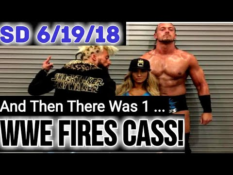 Big Cass FIRED From WWE Hours Before WWE Smackdown Live Hits The Air! *SDLive 6/19/18*