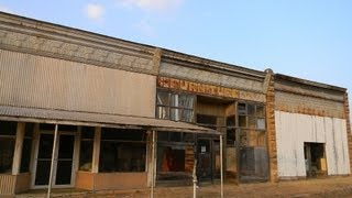 The ghost town of Maramec, Oklahoma