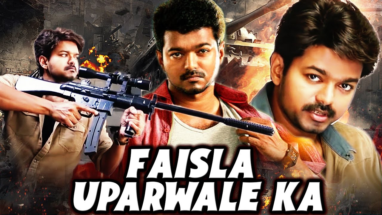 Vijay Latest Hindi Dubbed Movie | Faisla Uparwale Ka Full Movie | New Hindi Dubbed Movie | HD Movie