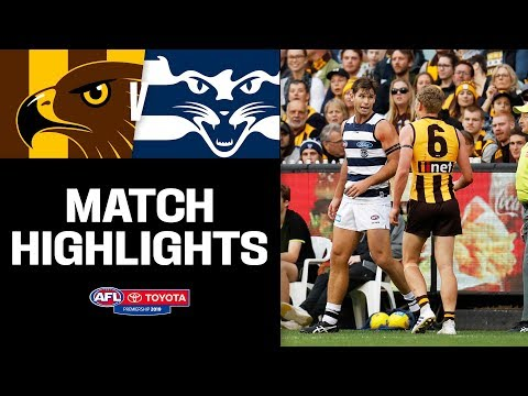 Another classic Easter Monday | Hawthorn v Geelong Highlights | Round 5, 2019 | AFL