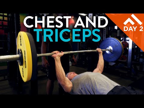 CHEST AND TRICEPS | WEEK IN THE SWOLE PROGRAM DAY 2