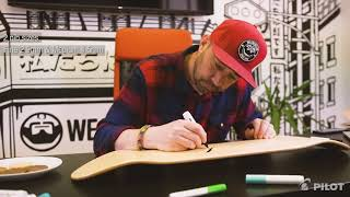 How to make custom skateboard deck designs using Pilot Pintor Marker Pens