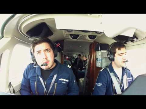 King Air 350 Air Ambulance Pilot GoPro - Amazing HD