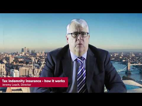Tax indemnity insurance - how it works
