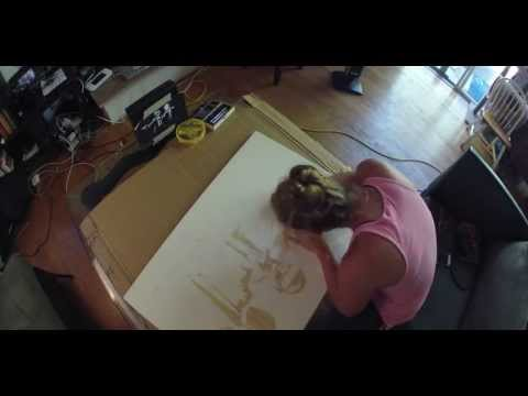 Daft Punk Time Lapse by Amanda Bailard on Artistic Junkie