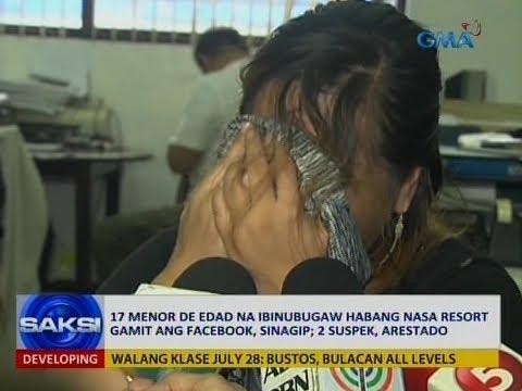 Saksi: 17 menor de edad na ibinubugaw habang nasa resort gamit ang Facebook, sinagip