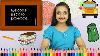 GOOD HABITS IN HINDI || HOW TO PREPARE FOR SCHOOL AFTER BREAK || #SchoolHacks