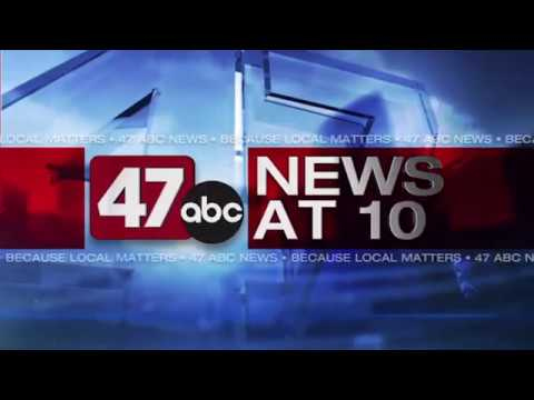 WMDT-DT2: 47ABC News at 10 on the CW open/close 2017