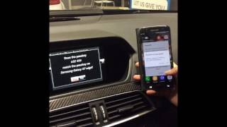 How to connect Bluetooth to your 2014 Mercedes Benz C63 AMG with Navigation