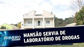 Polícia descobre laboratório de drogas em mansão de São Paulo | Primeiro Impacto (30/08/19)