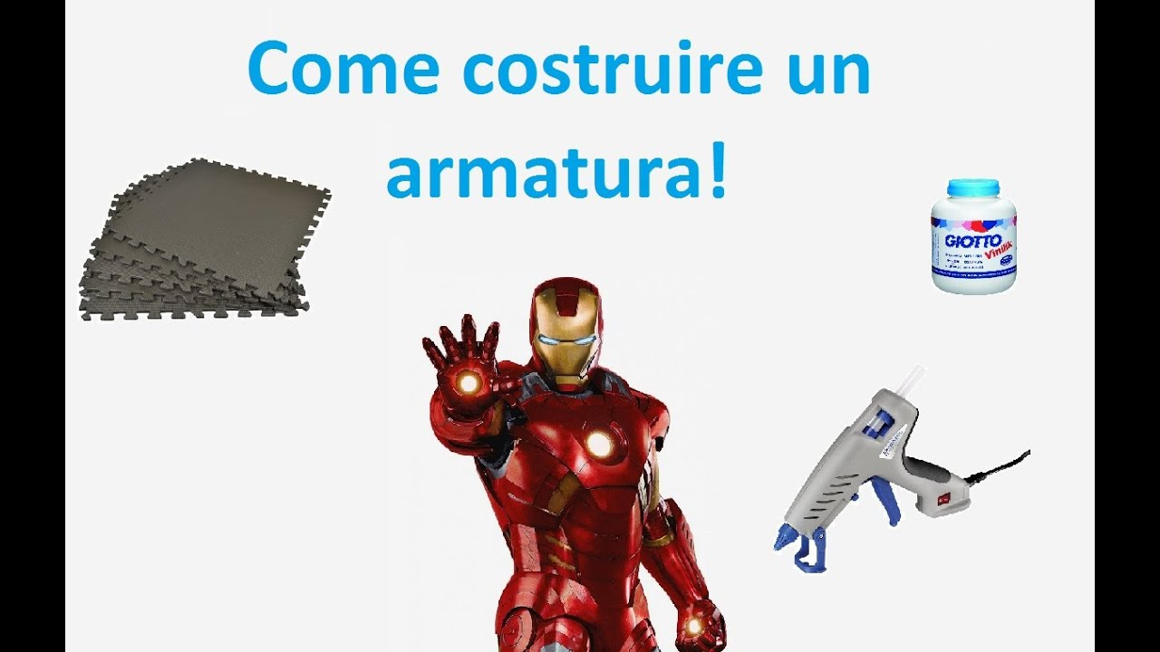 Come costruire un armatura iron man foam led for Come costruire un ranch
