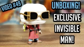 Unboxing Invisible Man Walgreens Exclusive Funko Pop 2018