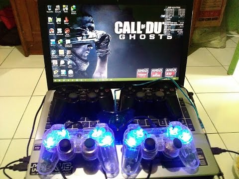 Cara Setting Joystick PS2/USB PC/Laptop di Semua Game