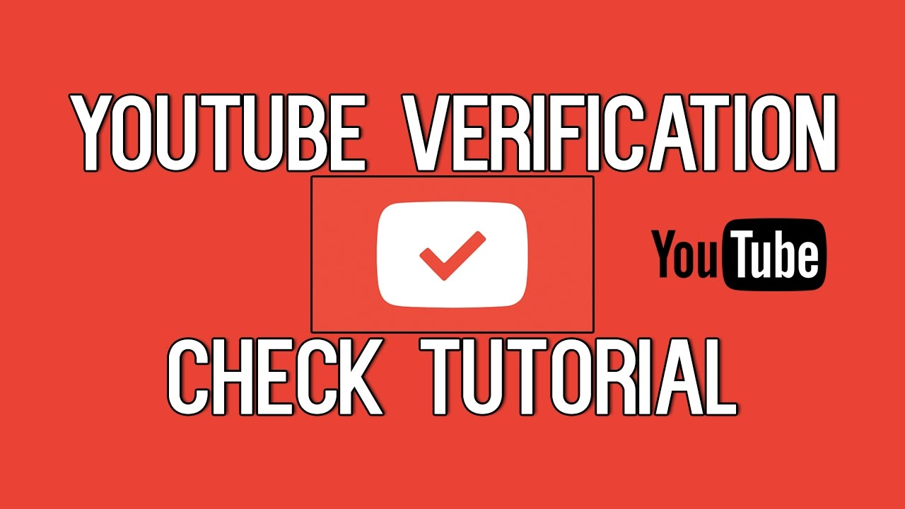 how to know if your youtube is verified