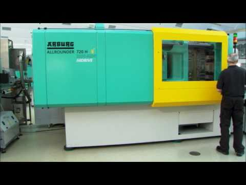 Injection moulding of 72 screw caps in less than 3 secs