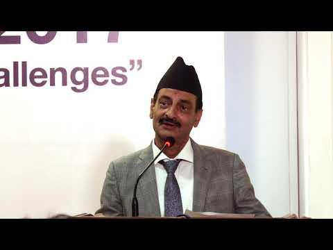 Nabindra Raj Joshi, Minister of Industry, Nepal: Nepal Business Gabfest 2017