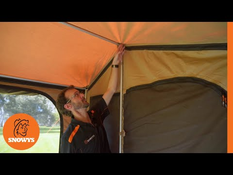 finest selection 541ef 30e72 Oztent RX-5 Tent + Panel System & Floor - How to setup and ...