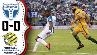 Video Gol Pertandingan Honduras vs Australia