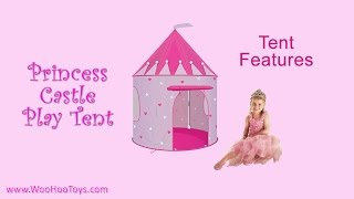 Beautiful Princess Castle Play Tent from WooHooToys.com