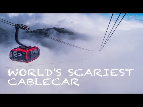 THE SCARIEST CABLECAR IN THE WORLD (and the longest) | SAPA