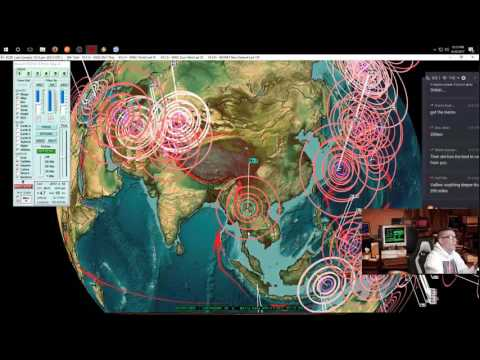 4/20/2017 -- Nightly Earthquake Update + Forecast -- Japan hit as expected , NW California on watch