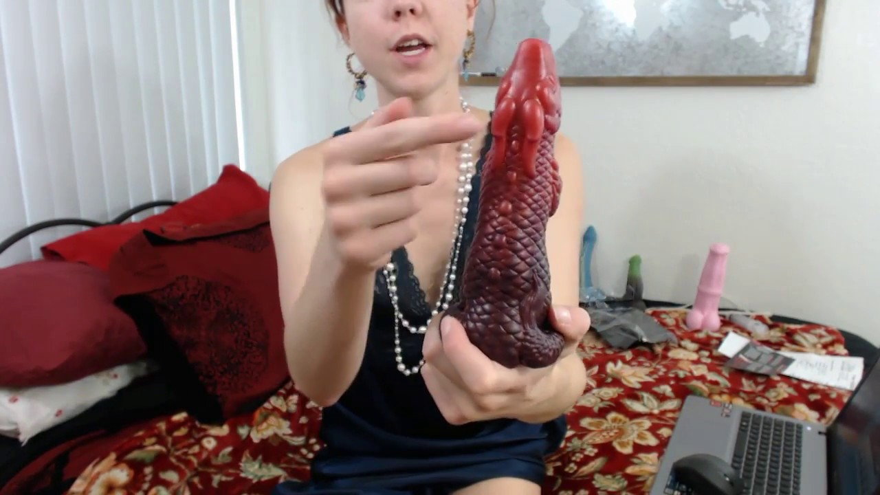 Bad dragon dildo with lingerie 10