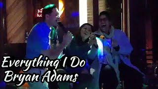 rached live karaoke everything i do by bryan adams
