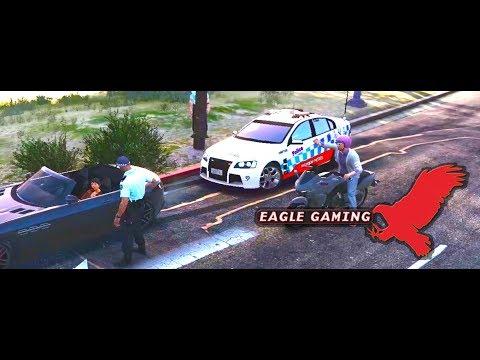 GTA V | LSPDFR | Route 15 NSWPF Vespucci Highway Patrol | NSW Police Highway Patrol Holden HSV
