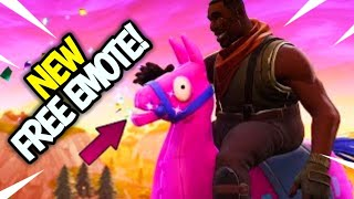 NOUVEAU EMOTE GRATUIT! COMMENT FAIRE POUR OBTENIR PAILLETTES- UP! FORTNITE EXLUSIVE EMOTE! GIDDY UP!