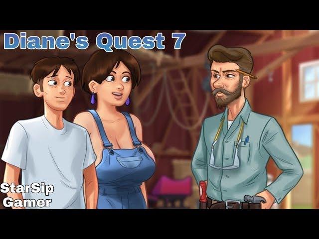 Quest Sommerzeit-Saga Diane Summertime Saga