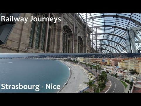 Strasbourg - Lyon - Marseille - Nice