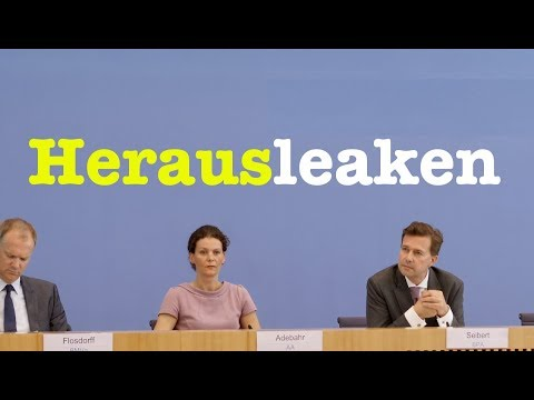 12. September 2018 - Bundespressekonferenz - RegPK