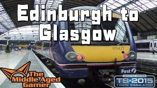 Train Simulator 2015 - Edinburgh to Glasgow - Eastern Express Service - Class 170 DMU