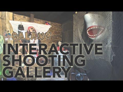 Interactive Shooting Gallery - Galaxy Multi Rides
